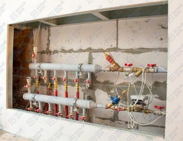 """Кафе-пекарне """"Croise"""" монтаж вентиляции, водоснабжения и электрики фото 3"""